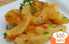 "Фото рецепта: «""Жареная картошка"" в рукаве»"