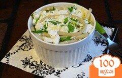 Фото рецепта: «Паста запеченная с творогом и сыром»