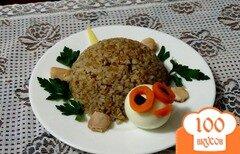 Фото рецепта: «Детское блюдо Черепаха»