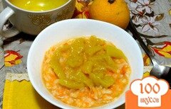 Фото рецепта: «Тыквенная каша с манго»