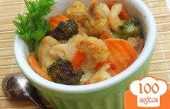 Фото рецепта: «Запеканка с курицей и овощами»
