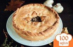 Фото рецепта: «Пирог с грибами»
