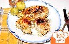 Фото рецепта: «Куриное филе тушеное сливочном соусе в мультиварке»