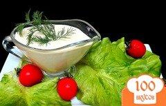 Фото рецепта: «Сметанный соус с яйцами»