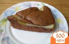 Фото рецепта: «Пирог с корицей и грушами»