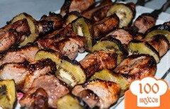 Фото рецепта: «Как замариновать шашлык из свинины. Рецепт шашлыка из свинины»
