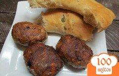 Фото рецепта: «Котлеты с запеченным перцем»