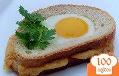 Фото рецепта: «Горячие бутерброды с сюрпризом»