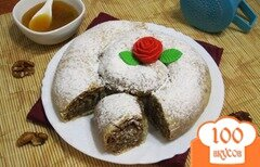 "Фото рецепта: «Болгарский сладкий пирог ""Баница""»"