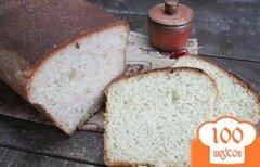 Фото рецепта: «Белый хлеб на молоке с сухой петрушкой»