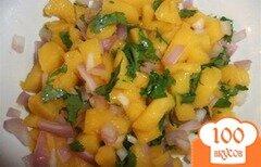 Фото рецепта: «Сальса с манго»