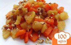 Фото рецепта: «Тыквенно-яблочный десерт»