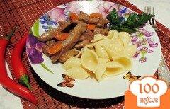Фото рецепта: «Свиная печень в томатно-сметанном соусе»