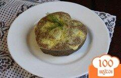Фото рецепта: «Печеночное суфле с сыром»