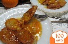 Фото рецепта: «Банановый десерт под мандариновым соусом»