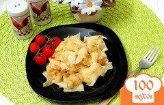 Фото рецепта: «Лазанки с капустой»