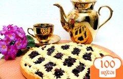 Фото рецепта: «Пирог со смородиной»