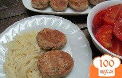 Фото рецепта: «Котлеты из фасоли со свининой»