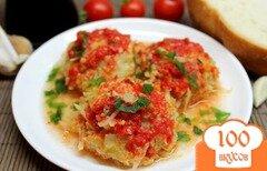 Фото рецепта: «Тефтели из телятины и капусты»