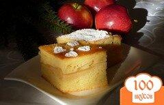 """Фото рецепта: «Яблочный пирог """"Восторг!""""»"""