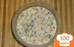 Фото рецепта: «Салат с кальмаром»