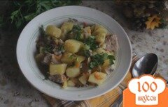 Фото рецепта: «Мясо тушеное с овощами в мультиварке»
