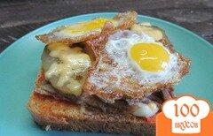 Фото рецепта: «Бутерброд с утиным мясом»