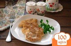 Фото рецепта: «Куриные котлетки из рубленного мяса»