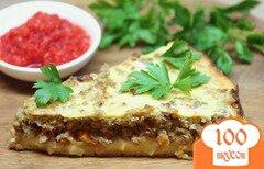 Фото рецепта: «Картофельный пирог с говяжьим фаршем»