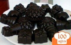 Фото рецепта: «Домашние конфеты с кэробом, какао тертым и медом»