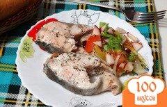 Фото рецепта: «Горбуша в кефирном маринаде на пару»