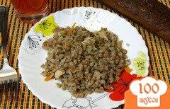 Фото рецепта: «Диетическая гречка с куриным филе»
