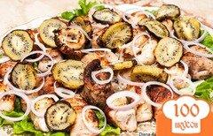 Фото рецепта: «Шашлык из рыбы с киви. Рыбный шашлык.»