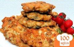 Фото рецепта: «Куриные рубленые котлеты с грибами»