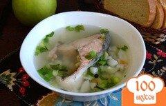 Фото рецепта: «Уха из красной рыбы в мультиварке»