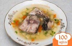 Фото рецепта: «Уха из сазана. Уха с пшеном»
