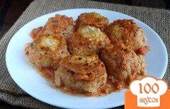 Фото рецепта: «Сочные куриные тефтельки»