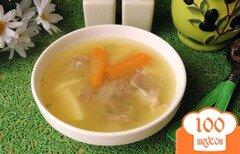Фото рецепта: «Гороховый суп на говяжьих ребрах»