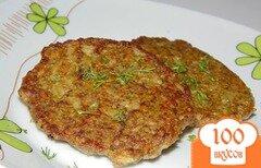 Фото рецепта: «Печеночные котлеты с овощами и рисом»