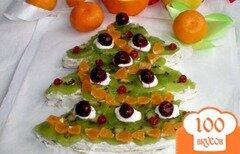 Фото рецепта: «Торт «Нарядная елка»»