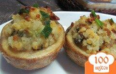 Фото рецепта: «Картофельные чашечки»
