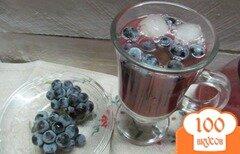 Фото рецепта: «Смузи из замороженных слив со льдом»