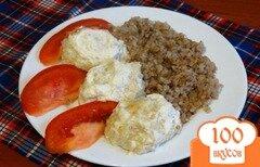 Фото рецепта: «Тефтели в сметанно-чесночном соусе»
