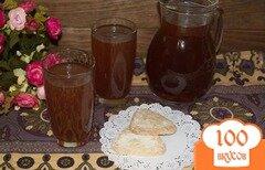 Фото рецепта: «Лечебный отвар для детей с имбирем, черносливом и яблоками»