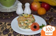 Фото рецепта: «Скорый салат к ужину»