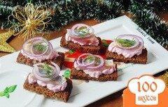 Фото рецепта: «Закусочные бутерброды с сельдью»