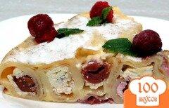 Фото рецепта: «Пирог *Улитка* со сладкой начинкой.»