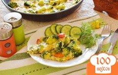 Фото рецепта: «Омлет с брокколи»