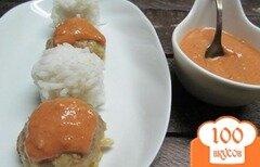 Фото рецепта: «Мини котлеты под соусом»