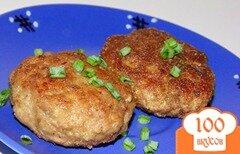 Фото рецепта: «Котлеты из говядины с овсяными хлопьями»